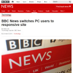 BBC News switches PC users to responsive site