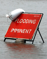 Stating the obvious - Flooding Imminent