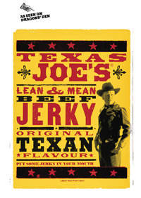 Texas Joe's lean and mean beef jerky